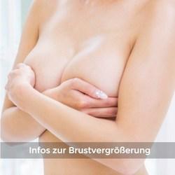 Informationsseite Brustvergrößerung